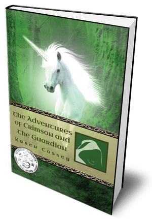The Adventures of Crimson and the Guardian Fantasy Book for 8 - 10 year olds