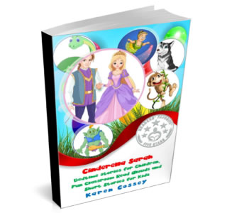 Cinderella Sarah Book Cover: Short Stories for 4-8 year olds