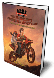 Trespasser's Unexpected Adventure Book for Middle Grade Kids. Find it in a good children's bookshop
