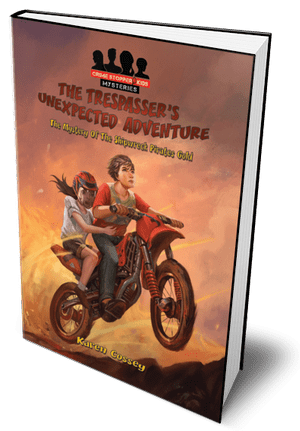 Trespasser's Unexpected Adventure Book for Middle Grade Kids. Find it in a good children's bookshop
