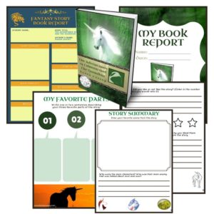 Free Grade 4 Book Report Template