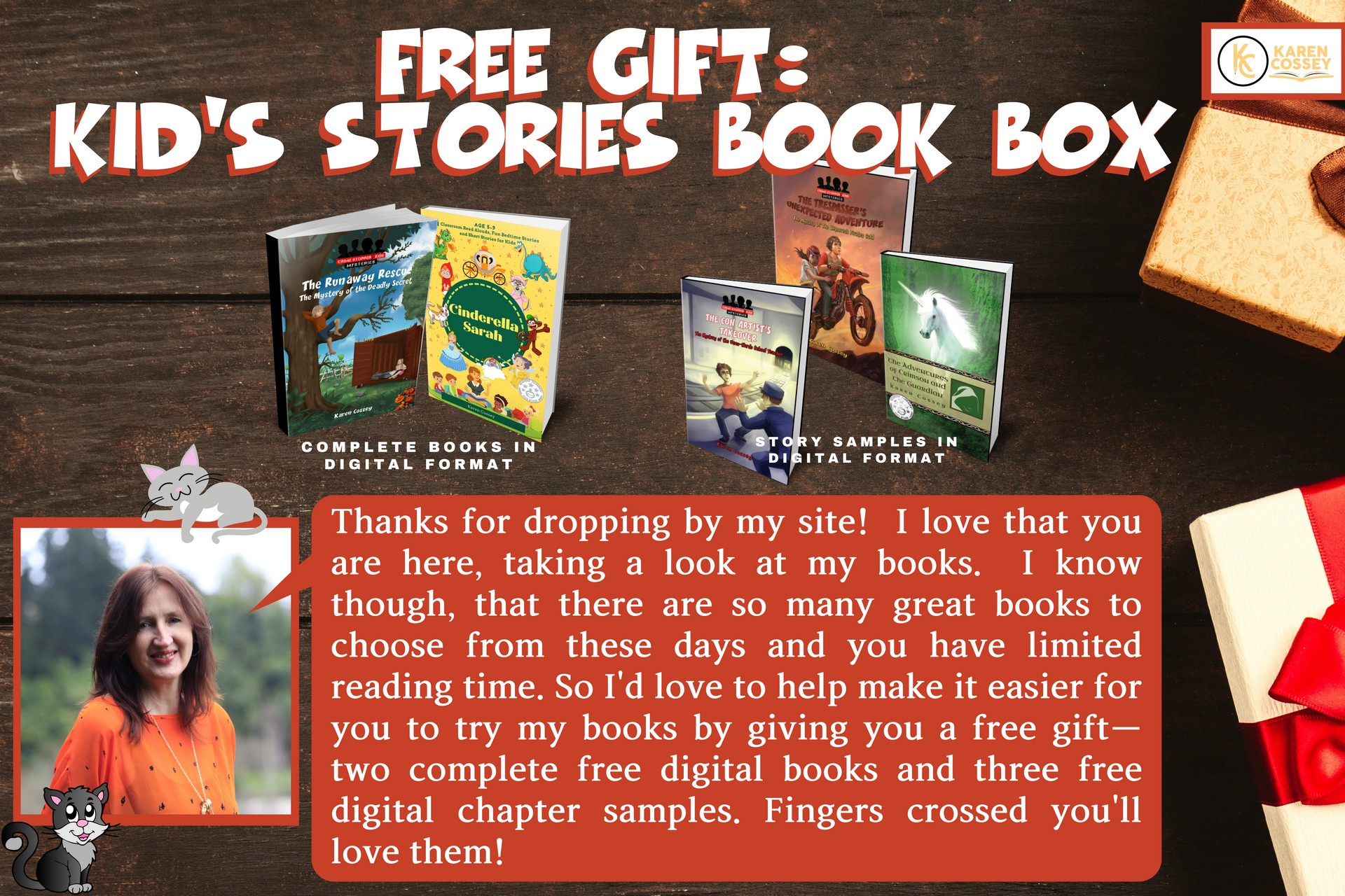 Free Kids 5-12 yrs Digital Book Box for You