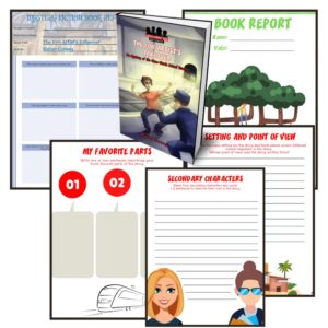 Image of Free Grade 5-6 Book Report Templates