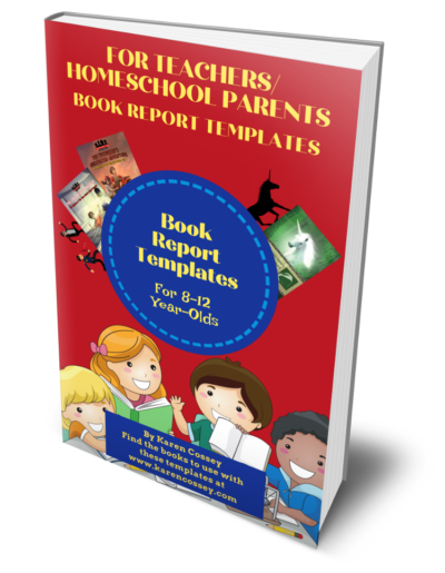 Book Cover for Book Report Template PDF Collection