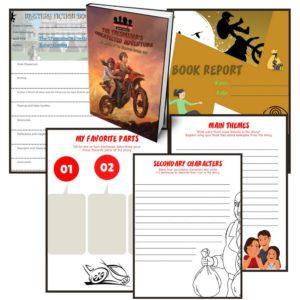 Free Grade 5-6 Book Report Template
