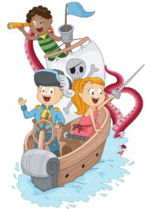 Sea Monsters and Pirates